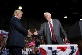Governor Jim Justice & Donald Trump