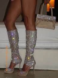 Shoes that glitter 1