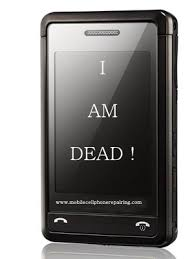 dead cell phone