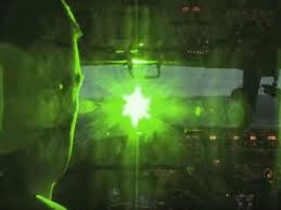 Lazer Pointed at Pilot 1