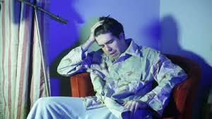 sad veteran