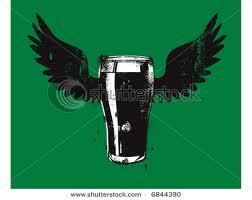 flying beer