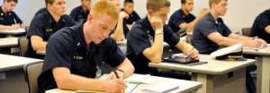 Navy classroom