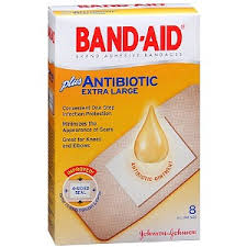 band aid w ointment