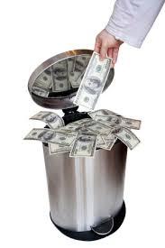 throwing away money 2