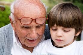 grandchild-listening
