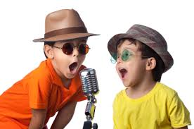 Young Child Singing 2