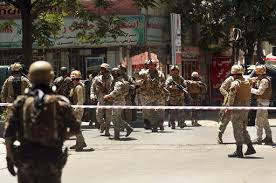 Suicide Bombing in Afghanistan