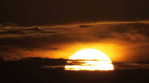 Sun rising
