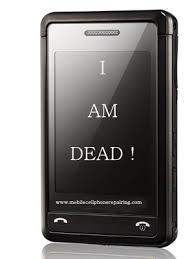 dead cell phone