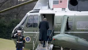 President Trump Helicopter 2