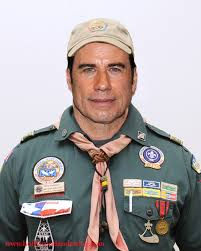 Adult in Boy Scout Uniform