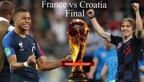 France VS Crotia World Cup