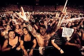 Concert yelling