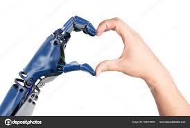 human and robot